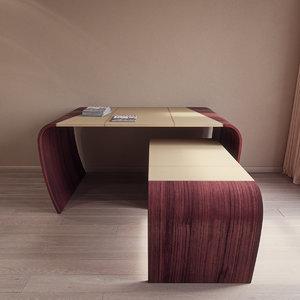 minos table codutti 3d 3ds