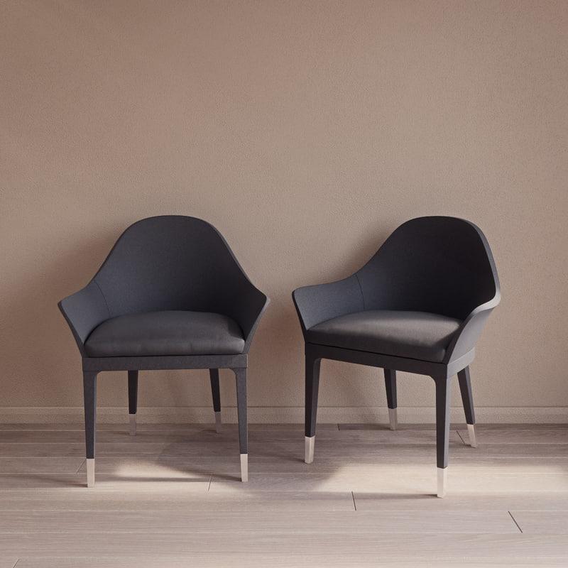 manta armchair smania 3d 3ds