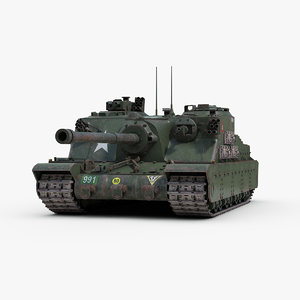 3d ww2 a39 tortoise tank track model