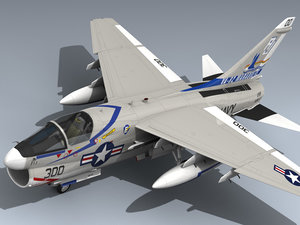 3d a-7e corsair ii aj300 model