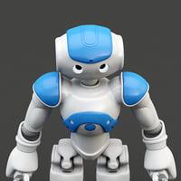 Robot Nao Blue