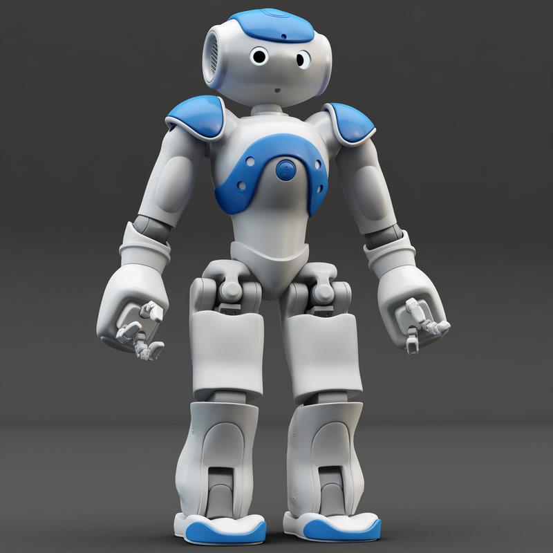 3d obj robot nao