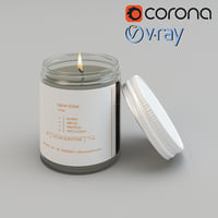 Pressed Roam Candle