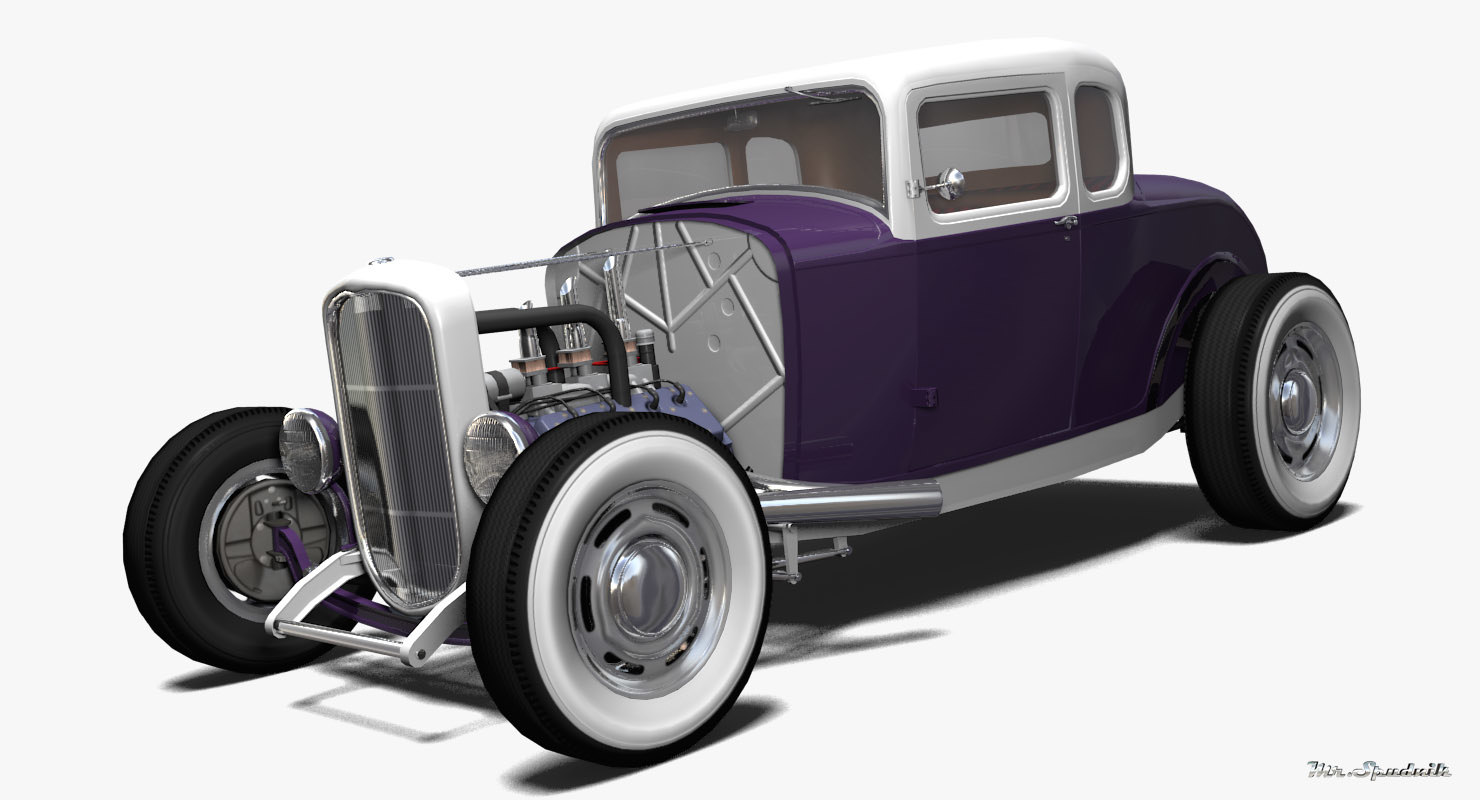 3ds hot rod