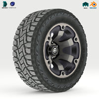 Off road wheel and tire 2