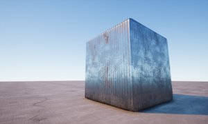 Corrugated Steel - Low Rust