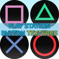 Play Station Button Textures