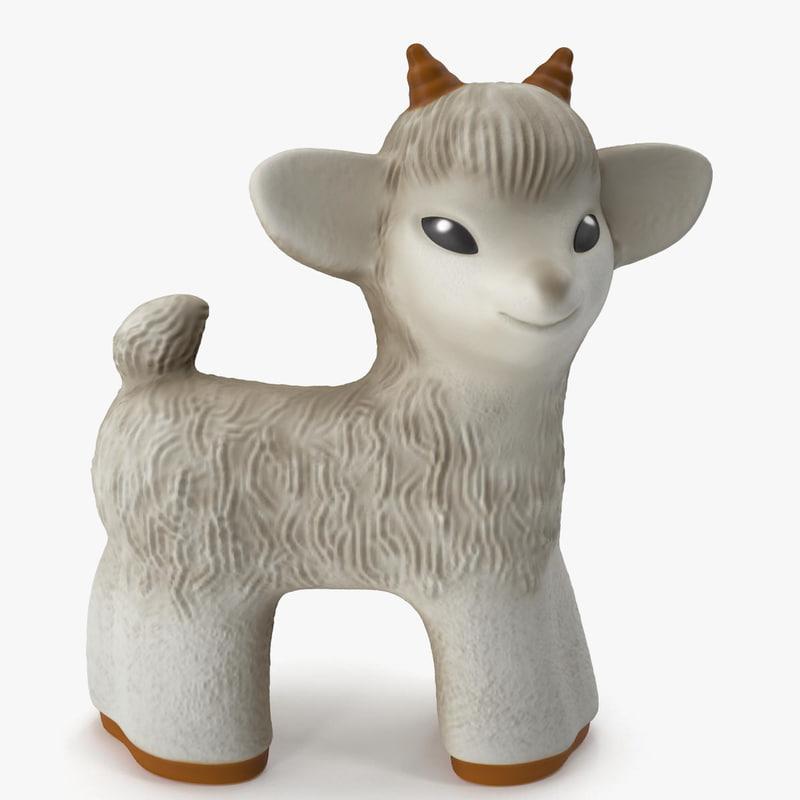 3dsmax toy goat