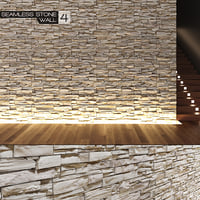 seamless stone wall 4 3d max