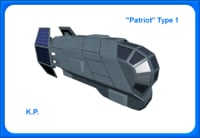 Space Ship Patriot Type 1