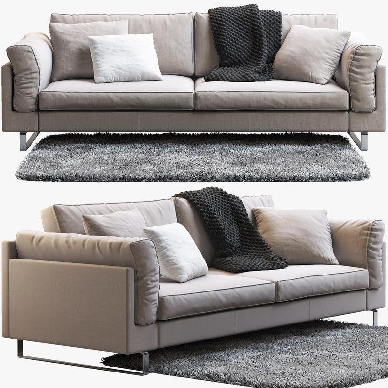 indivi 2 sofa 3d obj