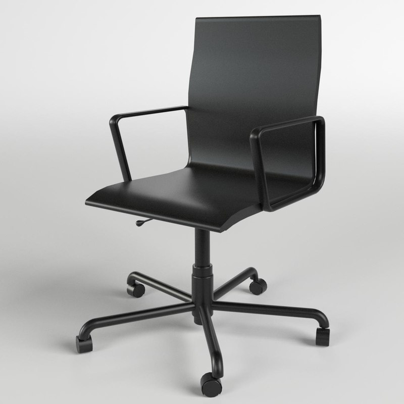 3d office chair 5 model
