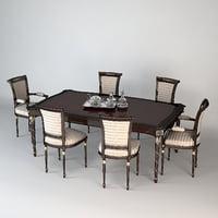 max francesco molon dining table