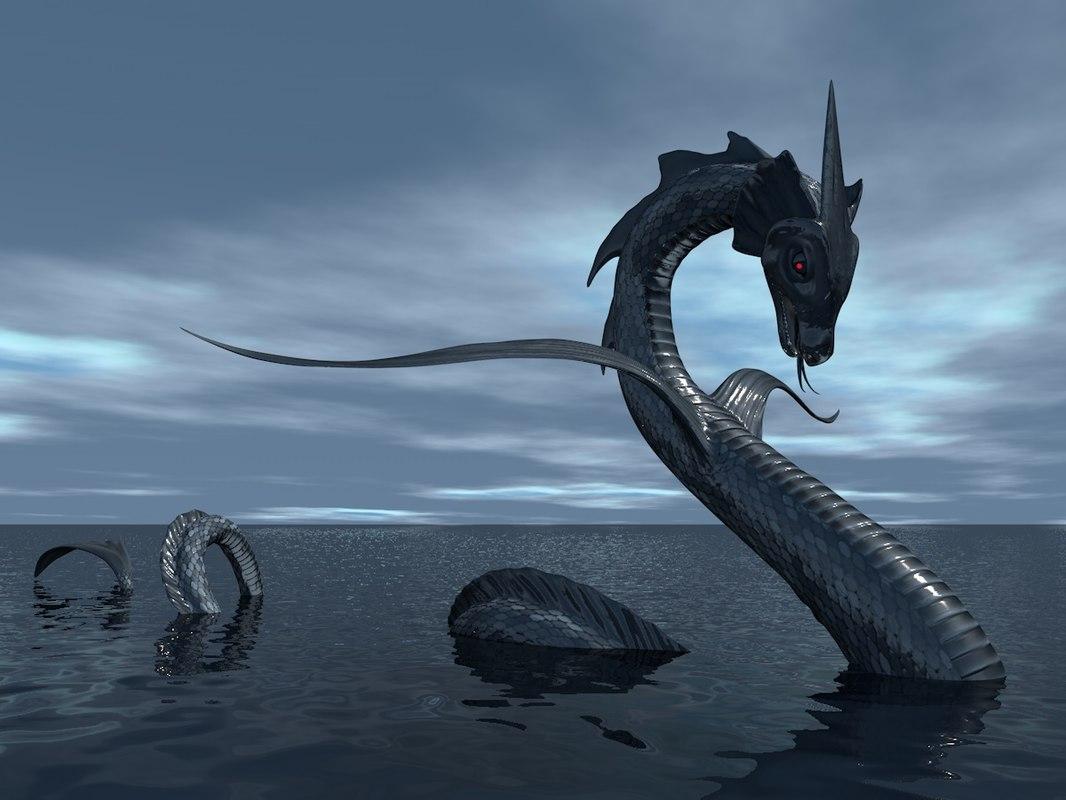 sea serpent c4d