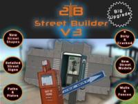 3d model street builder v3