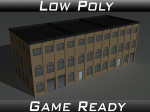 factory building 9 3d model