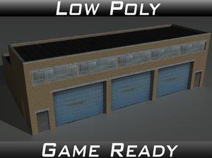 3d 11 building model
