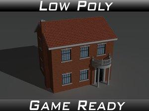 house 9 3d model