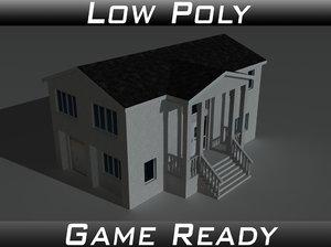 house 10 3d 3ds