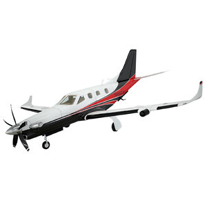 3ds max socata tbm900 aircraft