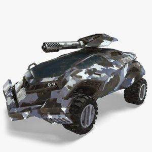 futuristic vehicle tank max
