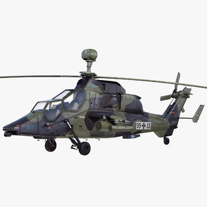 3d eurocopter tiger ec665 german