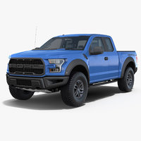 Ford F-150 Raptor 2017 Rigged