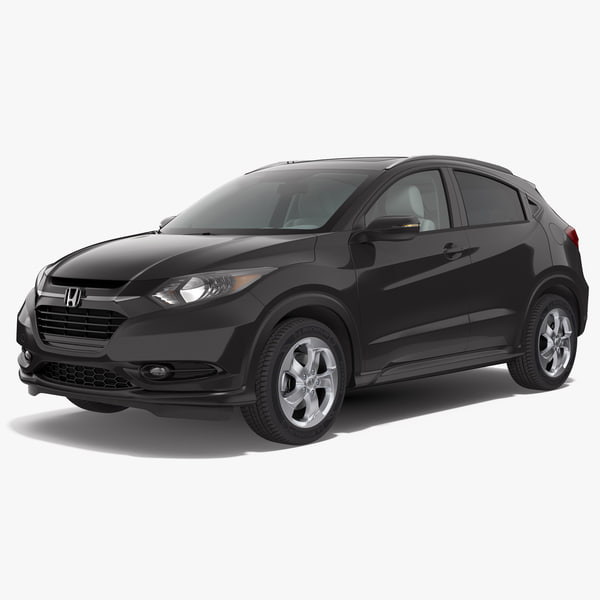 honda hr-v 2017 simple 3d max