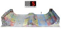 skate park scan 24k 3D