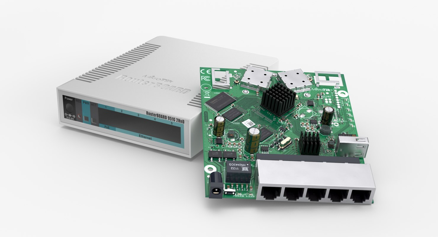Circuit 3d Models For Download Turbosquid Series Animated Model Parallel Mikrotik Rb951g 2hnd