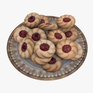 3d 3ds plates cookies