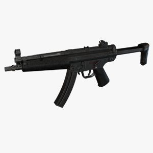 3d mp5 real heckler model