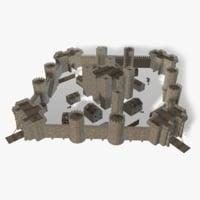 Medieval Castle Parts