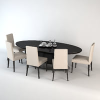 Giorgetti Ivi Table & Chairs