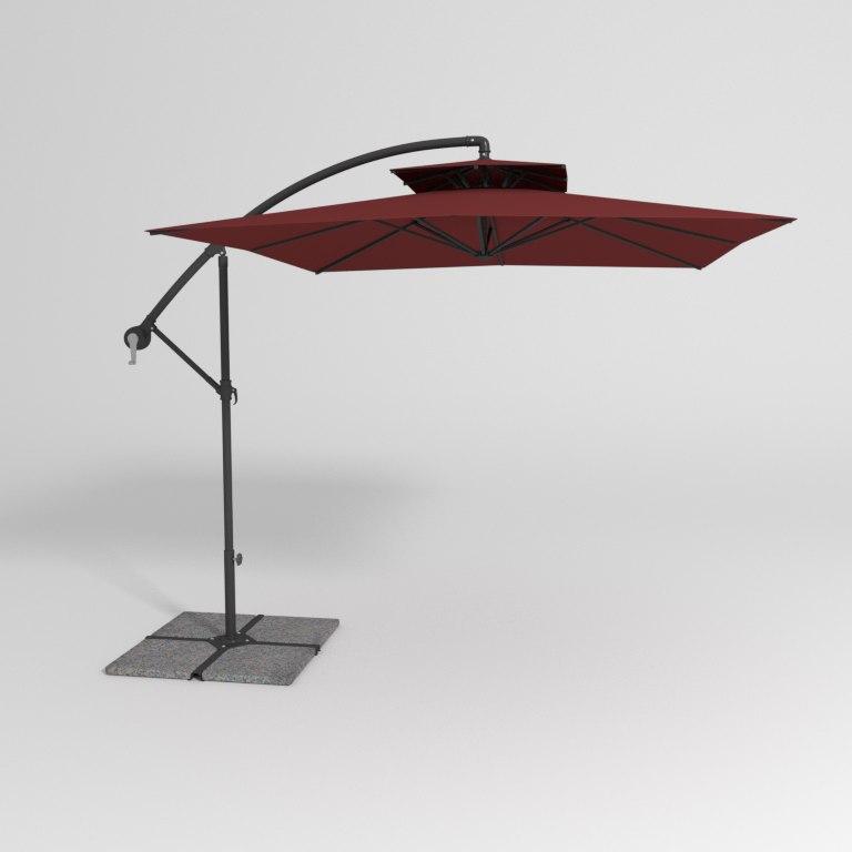 3d deck umbrella