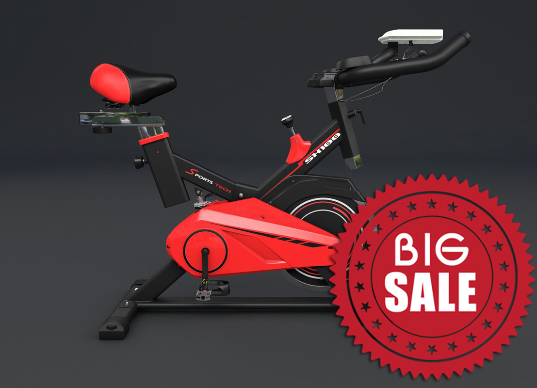 c4d exercise bike gym