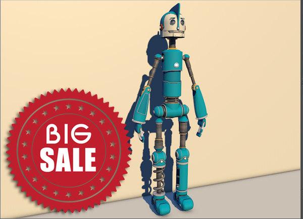 3d model robots