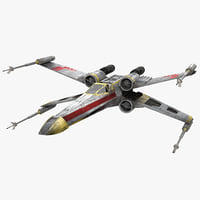 Star Wars X-Wing Starfighter Yellow