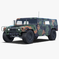 3d troop carrier hmmwv m1035