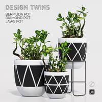 3d model design twins designtwins