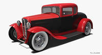 Ford Model B Coupe Hot Rod 1932