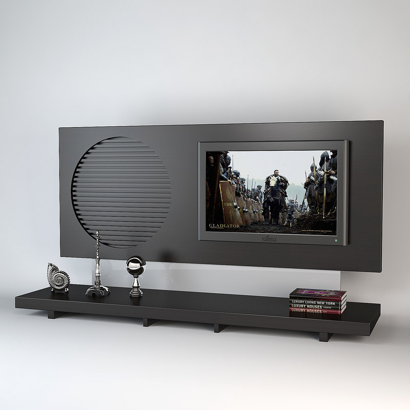 3ds max tvwall smania tv