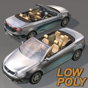 volkswagen car wheel 3d model