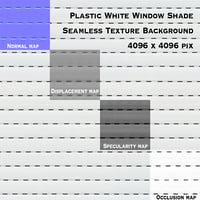 White Plastic Sunblind