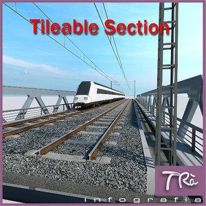 bridge section tileable max