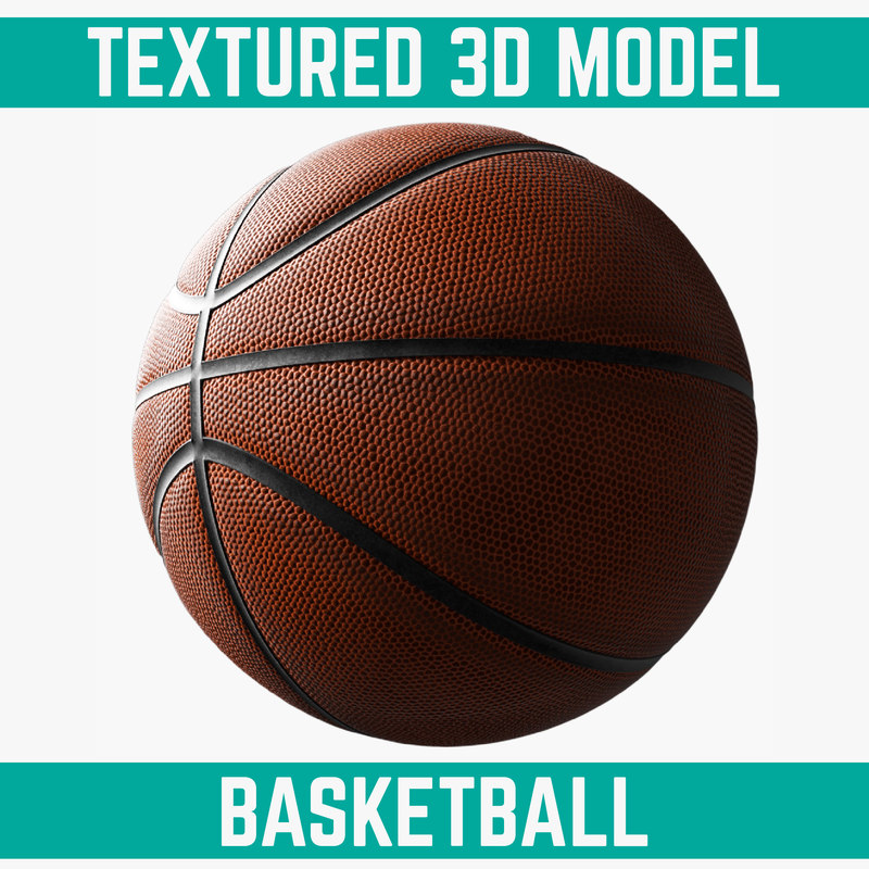 basketball element 3d model