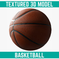 basketball element 3d model