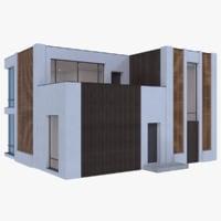 Modern House 14 ( Interior + Exterior )