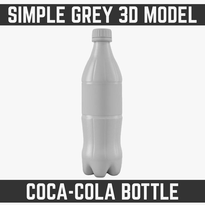 3d model 0 bottle modelled