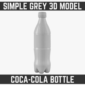 3d model 0 bottle modelled